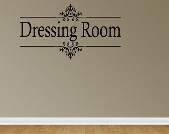 Wall Decal Quote Vinyl Sticker Art Lettering Decoration Dressing Room Closet (J562)