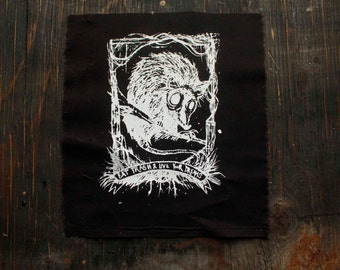 Posi-POSSUM BACK PATCH Eat Trash & Live Your Dreams