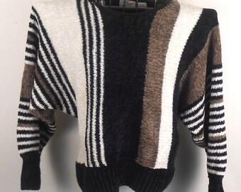 1980s Marc Robbins Sweater 100% Acrylic Size M Gorgeous - Free US Shipping
