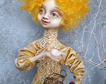 """Ooak Pure Sculpt doll """"Set your dreams free..."""""""