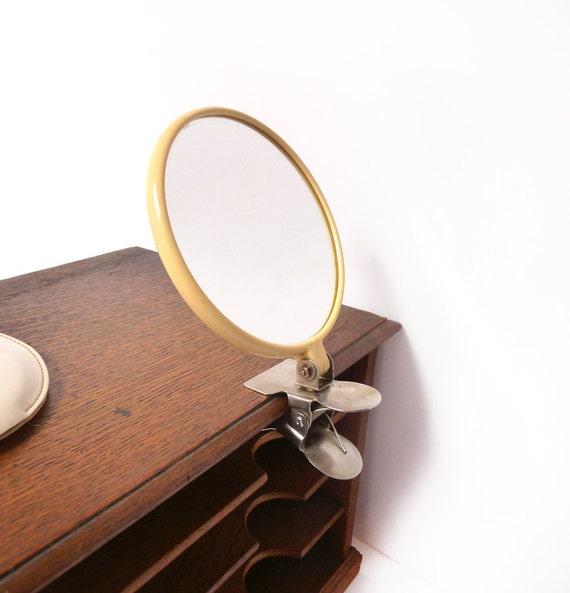 Miroir de voyage 2 faces avec pince miroir grossissant avec for Miroir de voyage