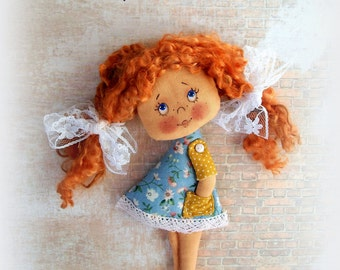 Soft Doll PATTERN, PDF, Cloth Doll Pattern, Digital Download,PDF Sewing Tutorial,pdf doll pattern