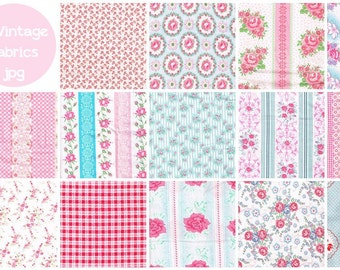 14 vintage fabrics jpg