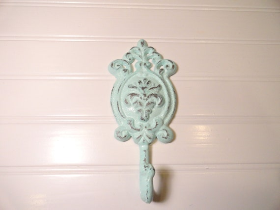 victorian style wall hook shabby chic hook by junkintime on etsy. Black Bedroom Furniture Sets. Home Design Ideas
