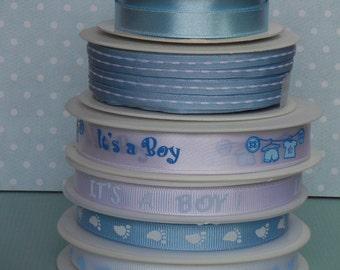 Baby Boy Ribbon