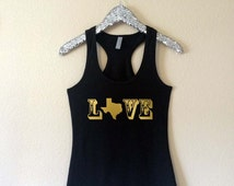 Texas Love Tank Top, Texas Tank Top, Texas Shirt, Texas Clothing, Texas Gift, Texas, Texas Pride, Tank Top, Women's Clothing, Texas Pride