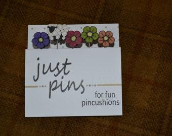Shepard's Wildflowers Pins