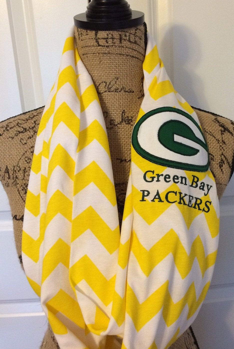 green bay packers scarf