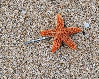 Starfish Mermaid Hair Bobby Pin -  Bridal Accessories, Mermaid Hair Accessories, Ariel Hair, Starfish Hair Accessories