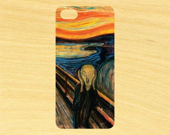 The Scream Painting Edvard Munch iPhone 4/4S 5/5C 6/6+ and Samsung Galaxy S3/S4/S5 Phone Case