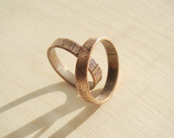 His and her promise rings Etsy