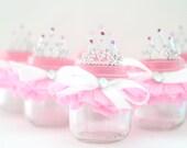 Tutu Party Favor Glass Jar/Princess Party Favors - MULTIPLE OPTIONS AVAILABLE