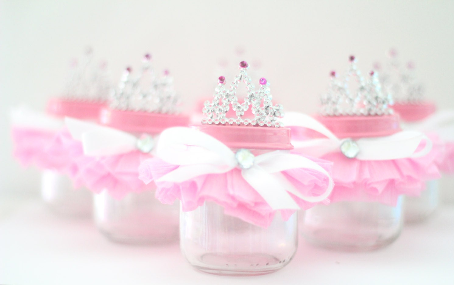 Princess Party Decoration Tutu Party Favor Glass Jar Princess Party Favors Multiple