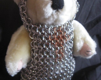 Chainmail Teddy Bear
