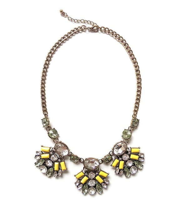 Find great deals on eBay for Yellow Statement Necklace in Fashion Necklaces and Pendants. Shop with confidence.