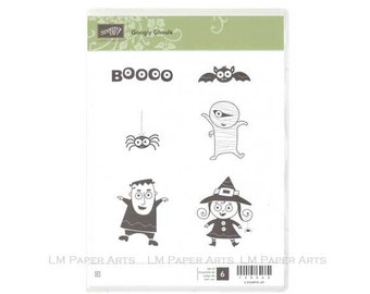 Stampin Up Googly Ghouls Clear Mount Stamp set