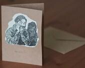 Hey Girl - Creepy Valentine's Card