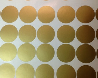 Polka Dot Wall Decal Etsy - How to get vinyl decals to stick to textured walls