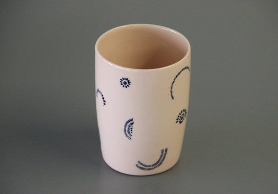 Items Similar To Printed Ceramic Cup Unique Coffee Mug
