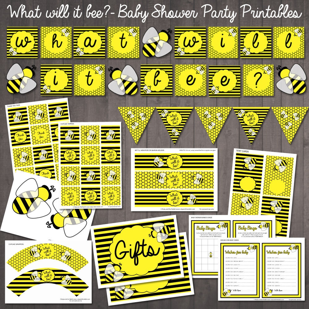 what will it bee baby shower bumble bee baby shower party