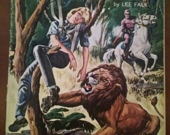 Vintage Comic, The Phantom Comic No. 6 February 1963, The Phantom Comic, Old Comic Book, Phantom Comic, Lee Falk