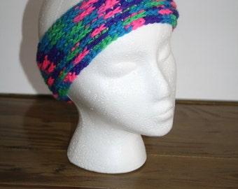 Ribbed Crochet Head Band