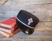Vintage Masonic Lodge Knights Templar Hat