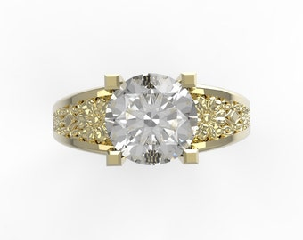 14kt Yellow Engagement ring