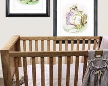Peter Rabbit Nursery prints, Beatrix Potter Illustration, Tom Kitten, Beatrix Potter ,  Three little kitten, Vintage Prints