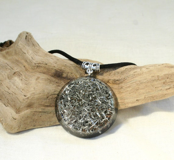 Electromagnetic Radiation Protection Necklace: Orgone Pendant No-frills EMF Protection And By