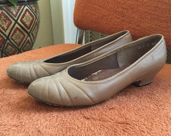 Vintage Leather Shoes Size 7