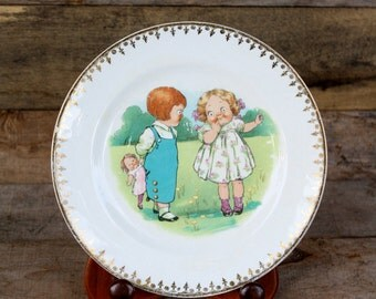 Vintage ELP Co Decorative Plate