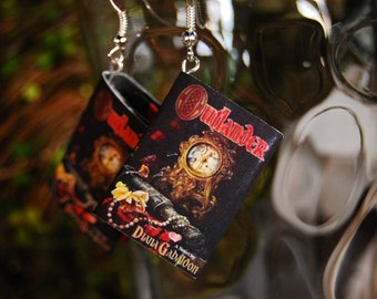 Outlander Book Earrings