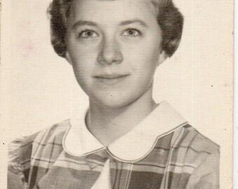 "Vintage Portrait ""Pretty in Plaid"""
