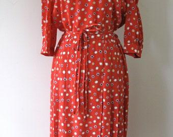 1980s Nina Ricci Dress