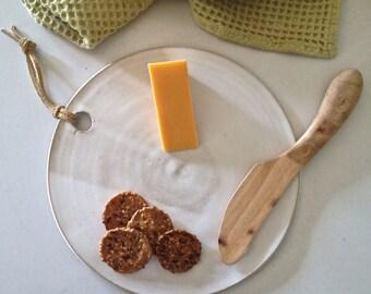 cheese board / serving platter