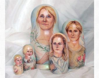 portrait Matryoshka doll