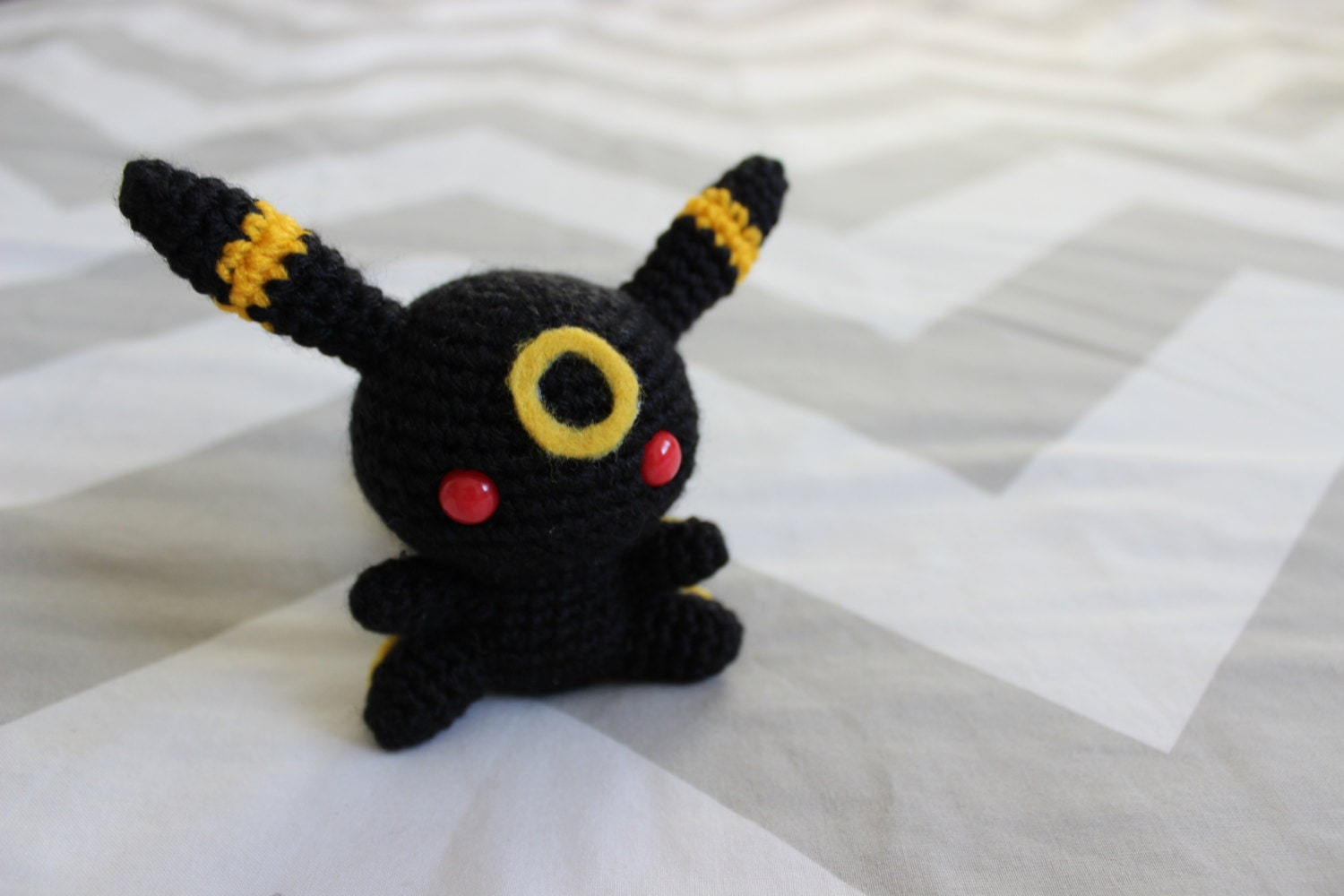 Crochet Umbreon : Umbreon Amigurumi Crochet Plush Doll