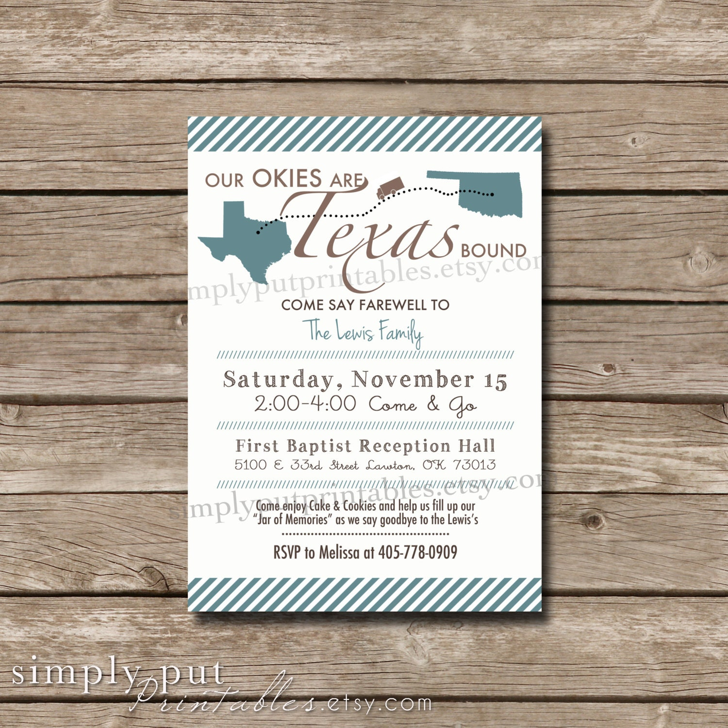 Bon voyage invite – Invitations for Going Away Party
