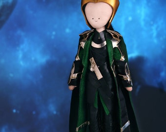 Loki - handmade doll from The Avengers
