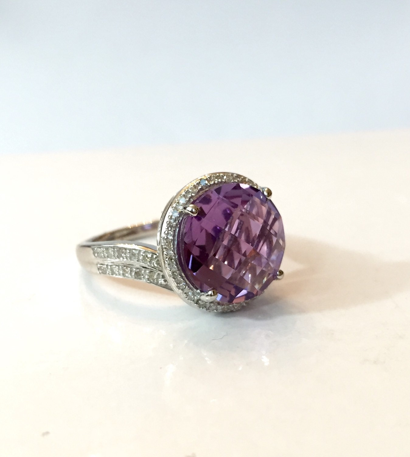 amethyst ring vintage - photo #47