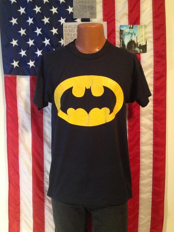 Vintage batman t shirt 80s 1980s retro by for Retro superhero t shirts