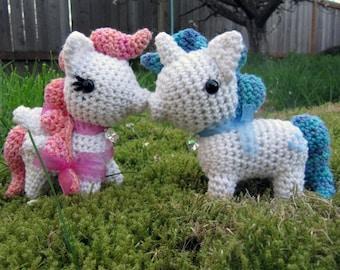 Star Pony Twins Pattern