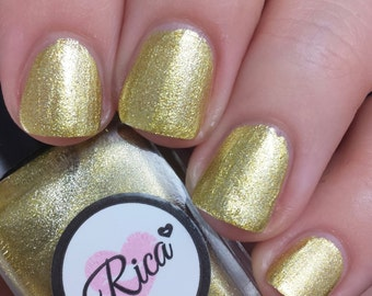 The Golden Egg (custom hand crafted nail polish)