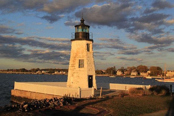 The Kennebunks of Maine – History Along the Southern Coast ...  Goat Island Lighthouse