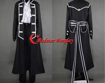 Pandora Hearts Gilbert Nightray Cosplay Costume - Custom made in Any size
