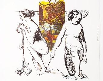 Vintage Movie Poster - Poster Art by Milan Grygar, 1980s Movie Poster