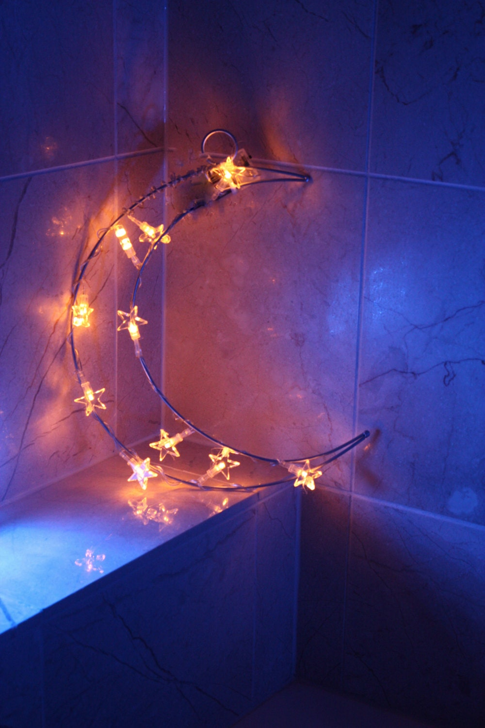 Kids room moon light kids room decor romantic by for Room decor with fairy lights