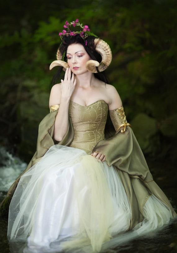 mariposa gown fairytale elven fantasy dress