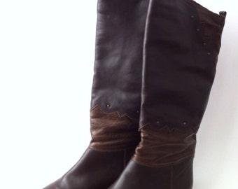Vintage boots size 36